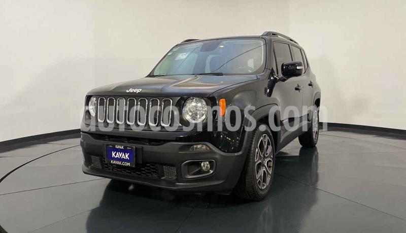 Jeep Renegade 4x2 Latitude Aut usado (2017) color Negro precio $312,999