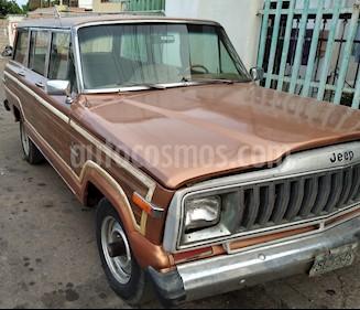 Jeep Wagoneer 4X2 usado (1985) color Marron precio u$s2.000