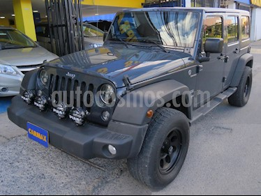 Jeep Wrangler Unlimited 3.8L Sport  Aut usado (2018) color Gris Oscuro precio $185.900.000