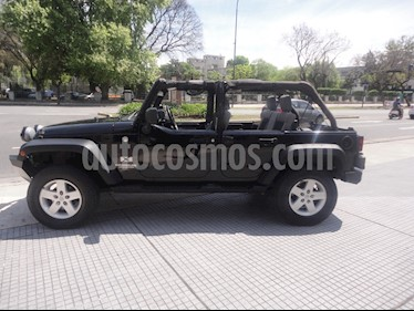Jeep Wrangler - usado (2009) color Negro precio u$s23.000