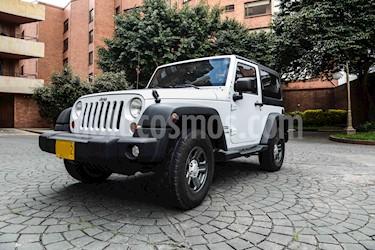 Jeep Wrangler 3.6L Sport  Carpado usado (2013) color Blanco precio $80.000.000