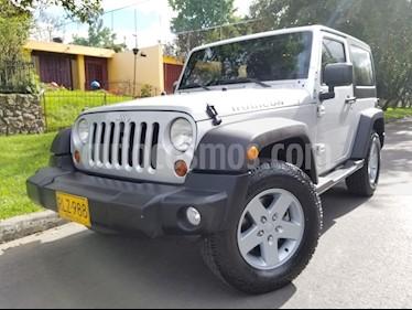 Foto venta Carro usado Jeep Wrangler 3.8L Rubicon Aut (2011) color Plata precio $78.900.000