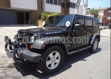 Jeep Wrangler 3.8L Rubicon Aut usado (2010) color Negro precio $50.000.000