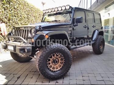 Foto venta Auto usado Jeep Wrangler 5p Unlimited Ed. 75 Aniversario V6/3.6 Aut (2016) color Negro precio $820,000