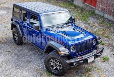 Jeep Wrangler Unlimited Rubicon 4P Aut nuevo color Azul precio u$s98.000