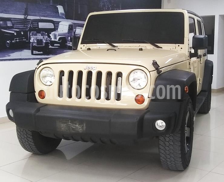 Jeep Wrangler Unlimited usado (2011) color A eleccion precio u$s32.000