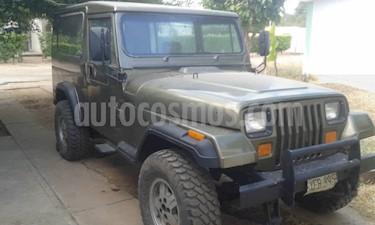 Foto venta carro usado Jeep Wrangler Auto. 4x4 color Marron precio BoF2.500