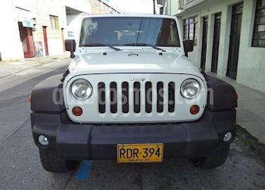 Jeep Wrangler 3.8L Sport usado (2010) color Blanco precio $48.000.000