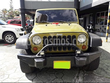 Jeep Wrangler 3.8L Unlimited Rubicon Aut  usado (2008) color Verde precio $45.000.000
