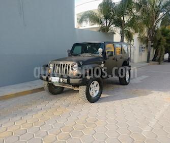 Jeep Wrangler JK Sahara 4x4 3.6L Aut usado (2007) color Negro precio $3,890,000