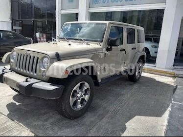 Foto venta Auto usado Jeep Wrangler JK Sahara 4x4 3.6L Aut (2018) color Beige precio $599,900
