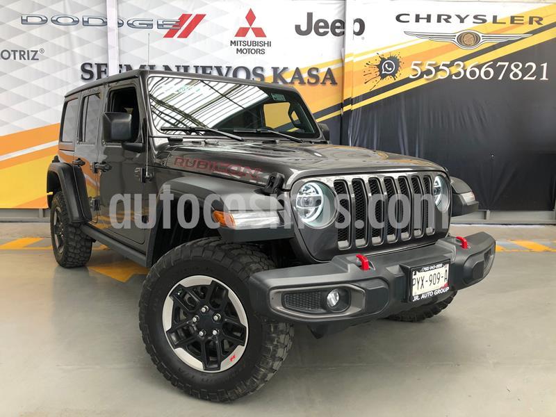 Jeep Wrangler Unlimited JK Rubicon 4x4 3.6L Aut usado (2019) color Gris precio $850,000