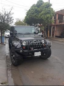 Jeep Wrangler Sahara 4x4 3.8L Aut usado (2007) color Negro precio $330,000