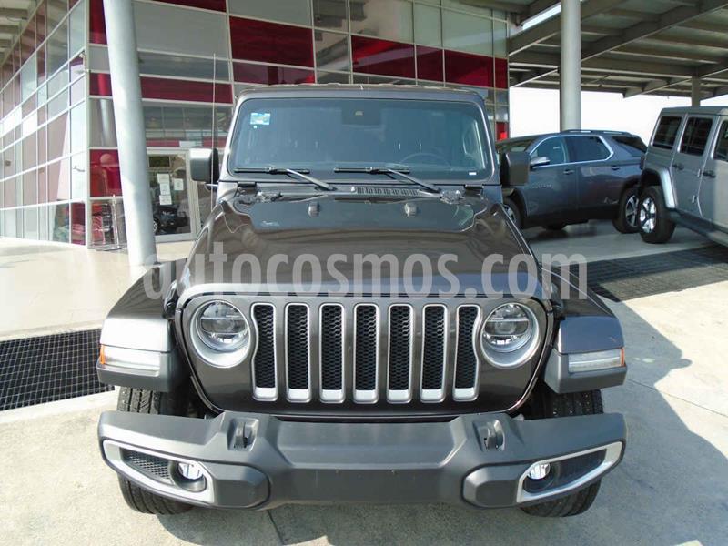 Jeep Wrangler Unlimited Sahara 4x4 3.6L Aut usado (2019) color Gris precio $789,000