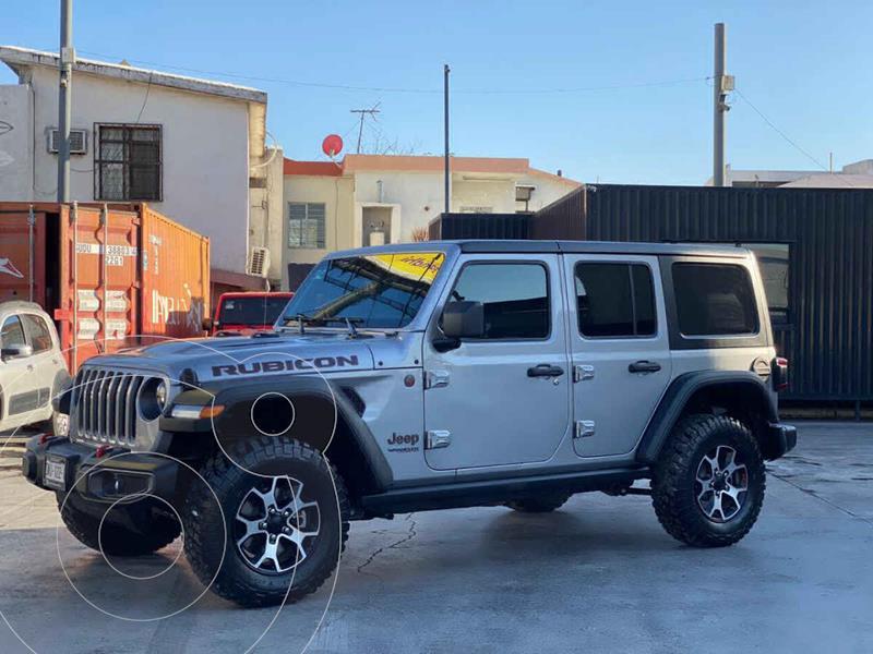 Jeep Wrangler Unlimited Rubicon 3.6L Mild-Hybrid Aut usado (2021) color Gris precio $1,090,000