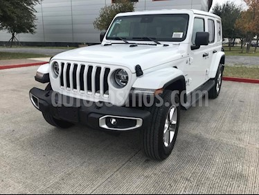 Jeep Wrangler Unlimited Sahara 4x4 3.6L Aut usado (2019) color Blanco precio $809,900