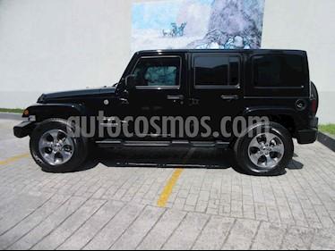 Jeep Wrangler Unlimited Sahara 4x4 3.6L Aut usado (2017) color Negro precio $585,000