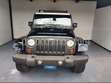 Jeep Wrangler Unlimited Sahara 4x4 3.6L Aut usado (2008) color Negro precio $329,000
