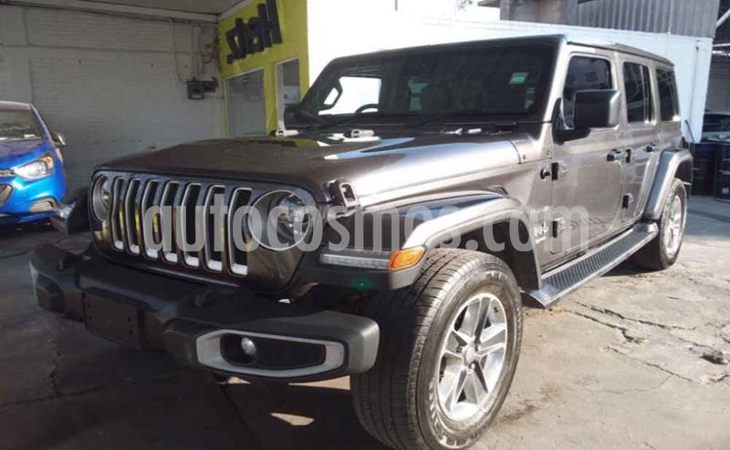 Jeep Wrangler 5p Unlimited JL Sahara V6/3.6 Aut usado (2019) color Gris precio $689,900