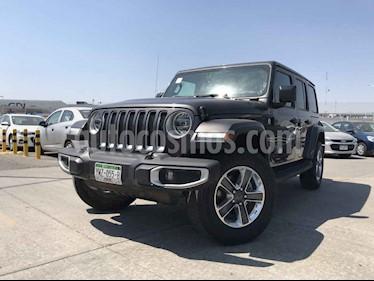 Jeep Wrangler 5p Unlimited JL Sahara V6/3.6 Aut usado (2019) color Gris precio $729,900