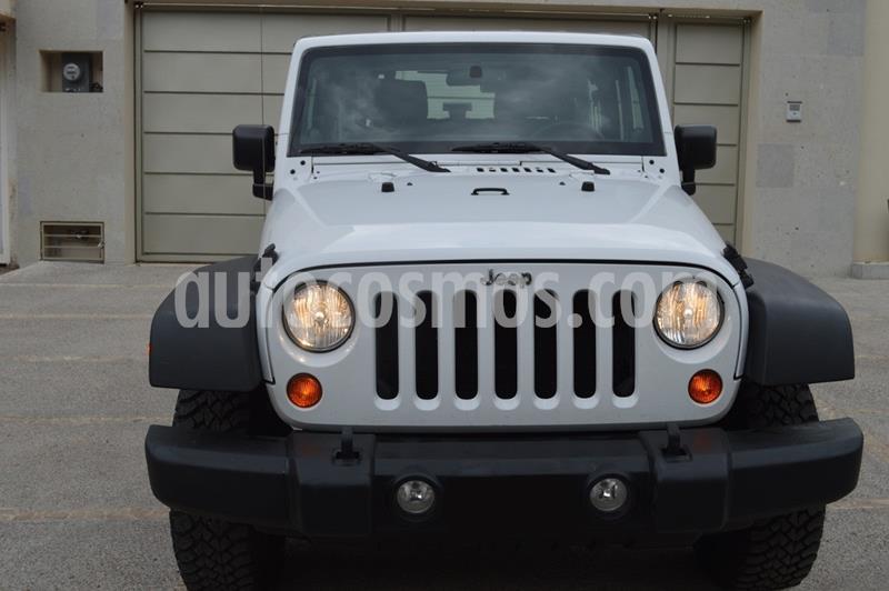 Jeep Wrangler Sport MTX 4x4 3.6L  usado (2013) color Blanco precio $250,000