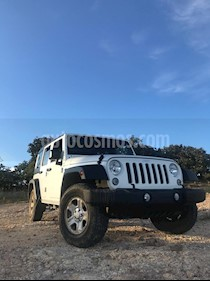 Jeep Wrangler Unlimited Sport 4x4 3.6L Aut usado (2018) color Blanco precio $580,000