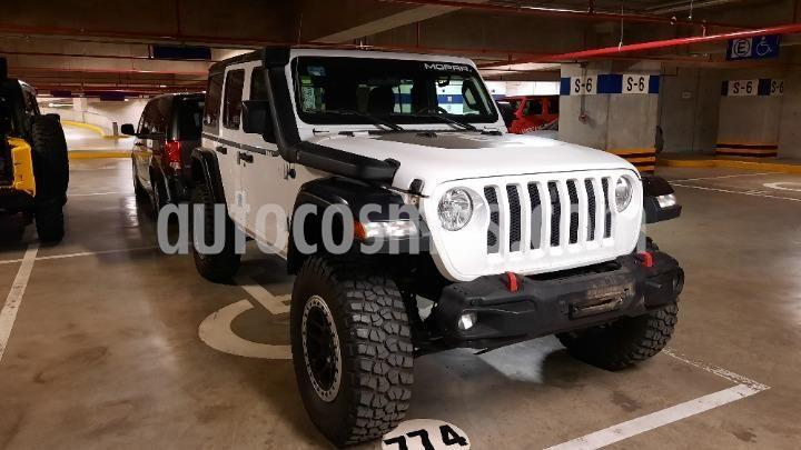 Jeep Wrangler Unlimited Sport S 4x4 3.6L Aut usado (2018) color Blanco precio $795,000