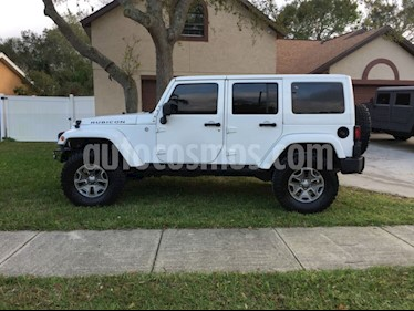 Jeep Wrangler Unlimited Sport 4x4 3.6L Aut  usado (2013) color Blanco precio u$s25,000
