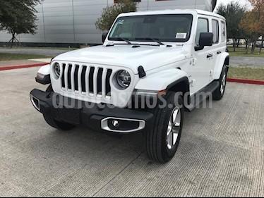 Jeep Wrangler Unlimited Sahara 4x4 3.6L Aut usado (2019) color Blanco precio $809,900