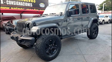 Jeep Wrangler Unlimited Night Eagle Mild-Hybrid Aut usado (2020) color Gris precio $1,039,000