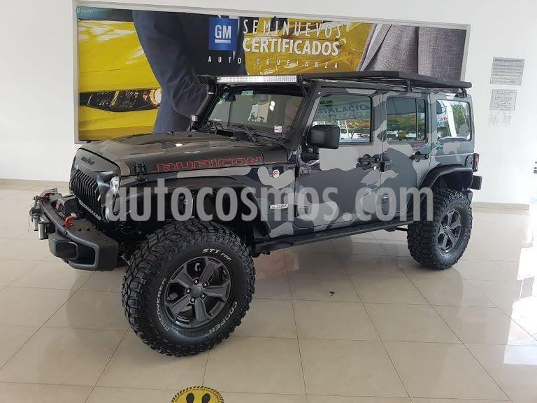Jeep Wrangler Unlimited Rubicon 4x4 3.6L Aut usado (2018) color Negro precio $973,900