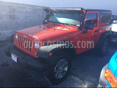 Jeep Wrangler Rubicon 4x4 3.8L Aut usado (2016) color Rojo precio $535,000