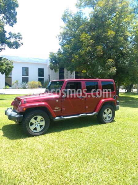 Jeep Wrangler Unlimited Sahara 4x4 3.6L Aut usado (2012) color Rojo Cerezo precio $360,000