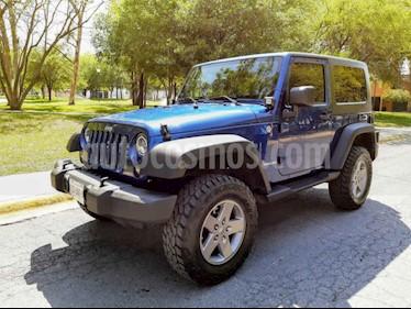 Jeep Wrangler Sahara 4x4 3.8L Aut usado (2010) color Azul precio $310,000