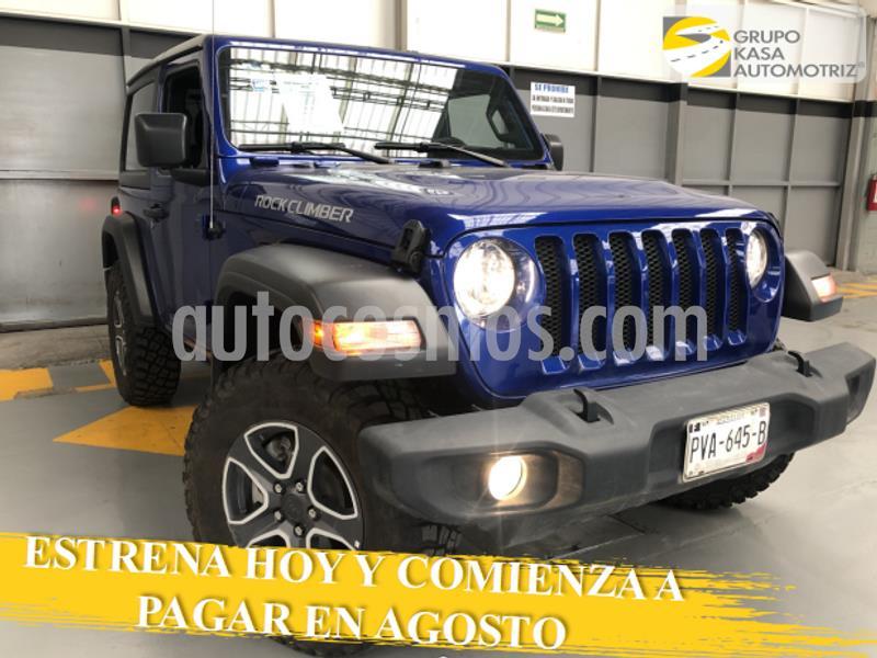 Jeep Wrangler Sport S Mild-Hybrid Aut usado (2020) color Azul precio $680,000