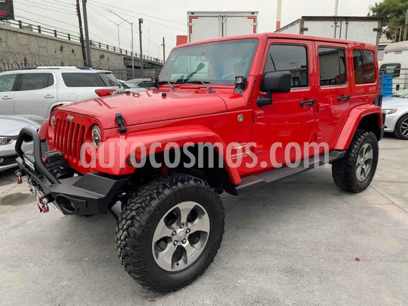 Jeep Wrangler Unlimited X 4x4 3.6L Aut usado (2011) color Rojo precio $479,800