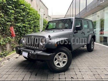 Jeep Wrangler JK Rubicon 4x4 3.6L Aut usado (2018) color Plata precio $550,000