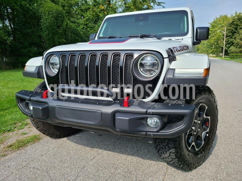 Jeep Wrangler Unlimited JK Rubicon 4x4 3.6L Aut usado (2020) color Blanco precio $800,000