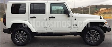 Jeep Wrangler Unlimited X 4x2 3.8L Aut usado (2007) color Blanco precio $300,000