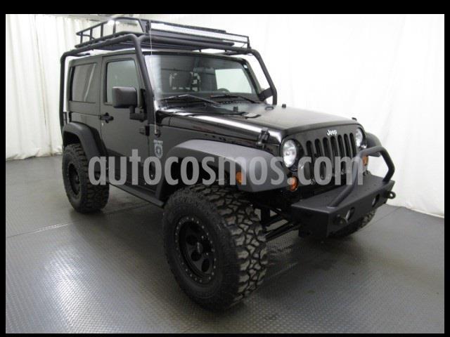 Jeep Wrangler Unlimited Rubicon Aut usado (2007) color Negro precio $70,000