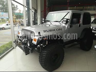 Foto venta Auto Seminuevo Jeep Wrangler Rubicon 4x4 4.0L Techo Duro (2003) color Gris Plata  precio $260,000
