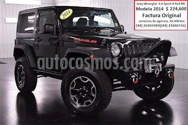 Foto venta Auto Seminuevo Jeep Wrangler Rubicon 4x4 4.0L Techo Duro (2014) color Negro precio $224,600