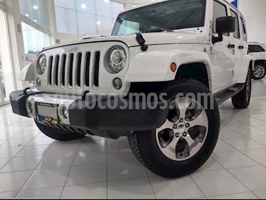 Foto venta Auto usado Jeep Wrangler Sahara 4x4 3.6L Aut (2018) color Blanco precio $619,900