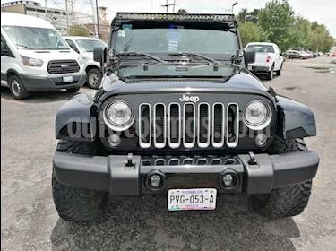 Foto venta Auto usado Jeep Wrangler Sahara 4x4 3.6L Aut (2018) color Negro precio $700,000