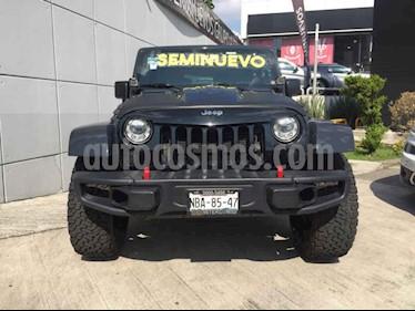 Foto venta Auto usado Jeep Wrangler Sahara 4x4 3.6L Aut (2017) color Azul precio $599,000