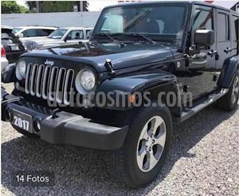 Foto venta Auto usado Jeep Wrangler Sahara 4x4 3.6L Aut (2017) color Negro precio $650,000