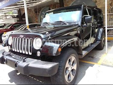 Foto venta Auto usado Jeep Wrangler Sahara 4x4 3.6L Aut (2017) color Negro precio $539,800