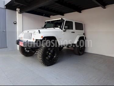 Foto venta Auto usado Jeep Wrangler Sahara 4x4 3.8L Aut (2012) color Blanco Alaska precio $418,000