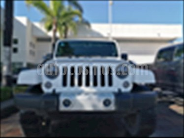 Foto venta Auto usado Jeep Wrangler SAHARA 4X4 AT (2014) color Blanco precio $475,000