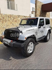 Jeep Wrangler Sahara Aut Techo Duro usado (2012) color Gris Plata  precio $340,000